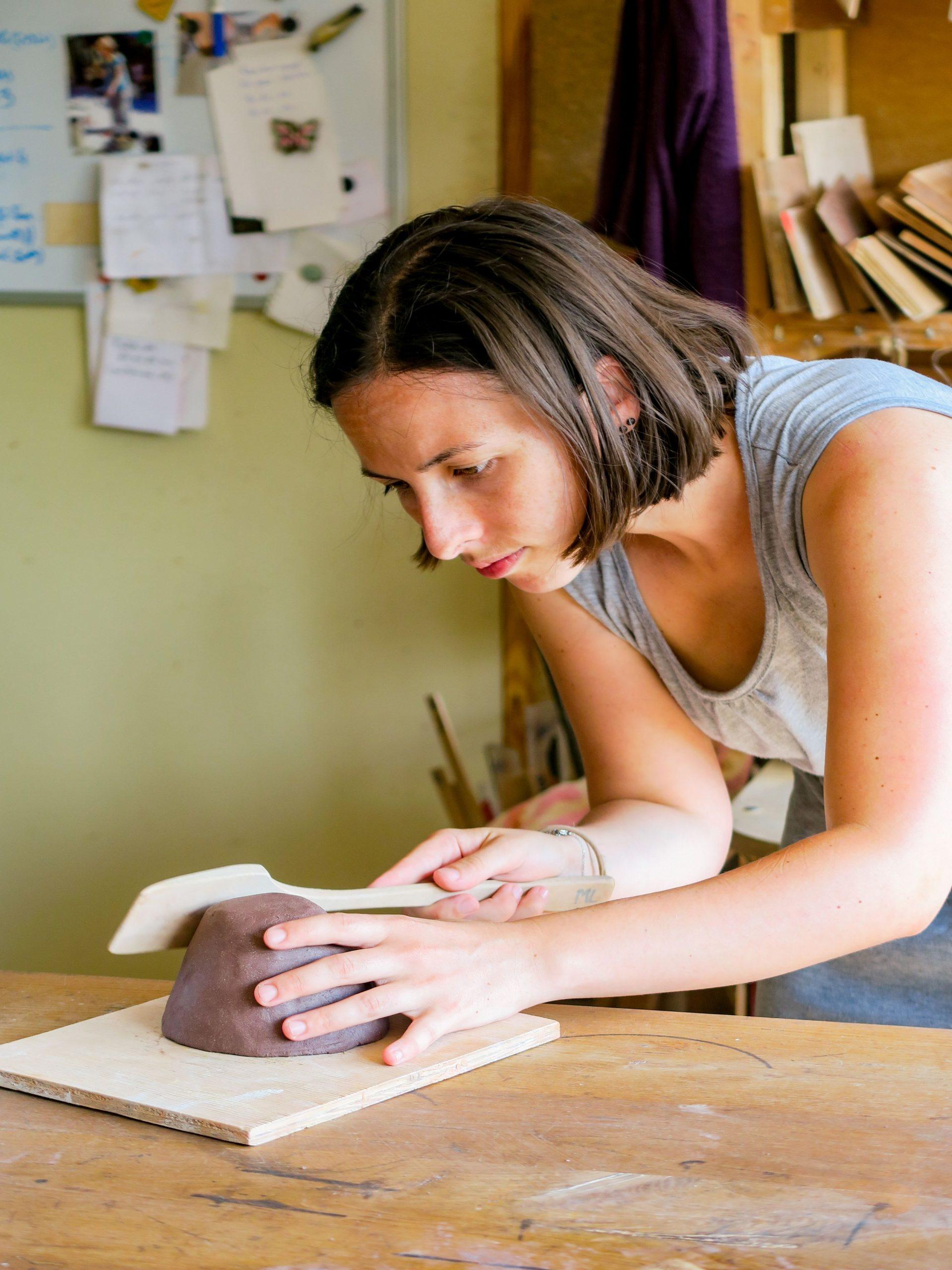 jolies lueurs atelier de poterie molitg village