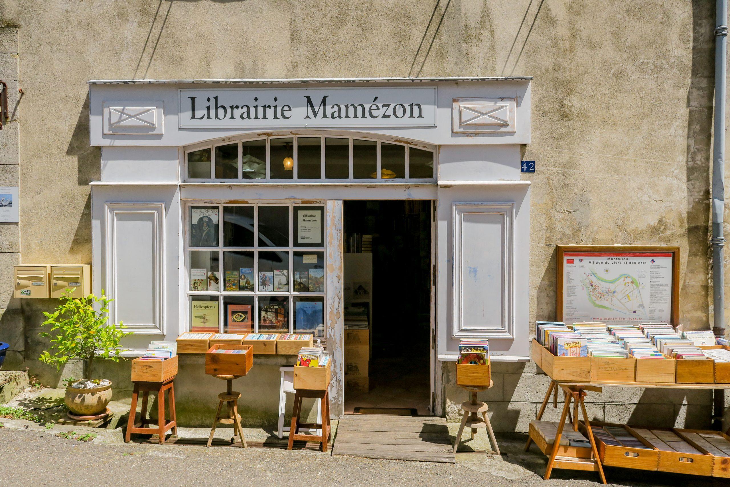 libraire mamezon montolieu