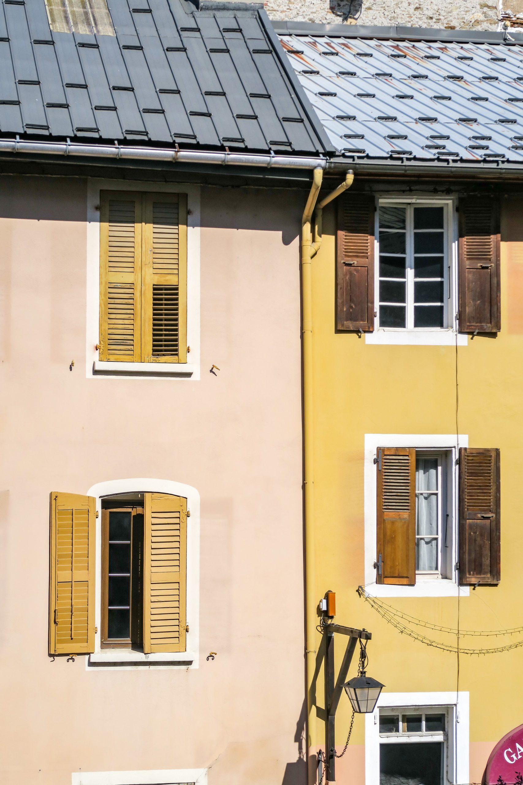 facades atypiques de conflans