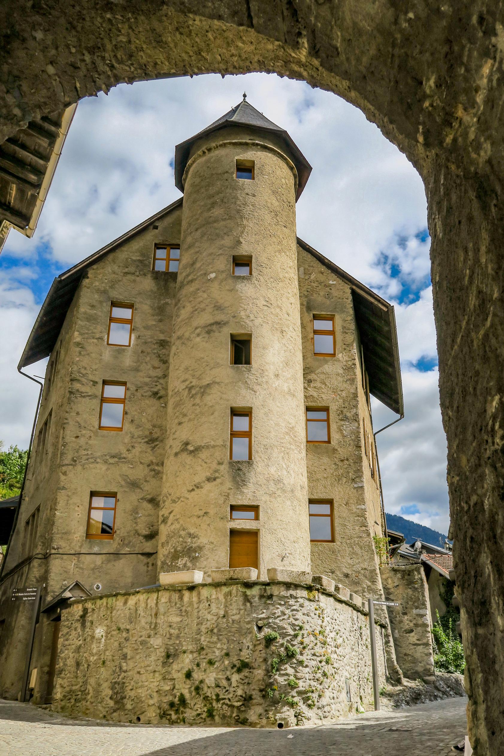 la tour ramus pays d'albertville