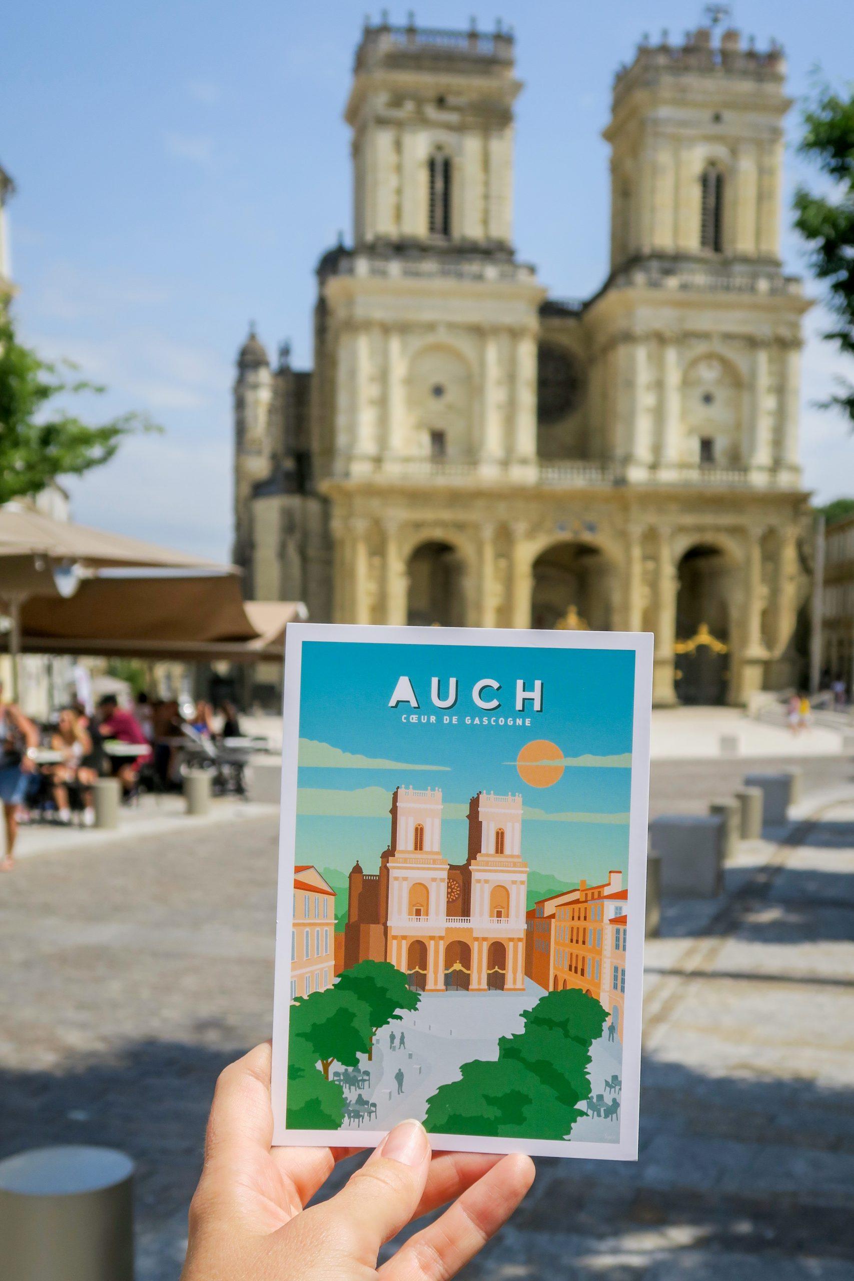 auch tourisme les petits affichistes