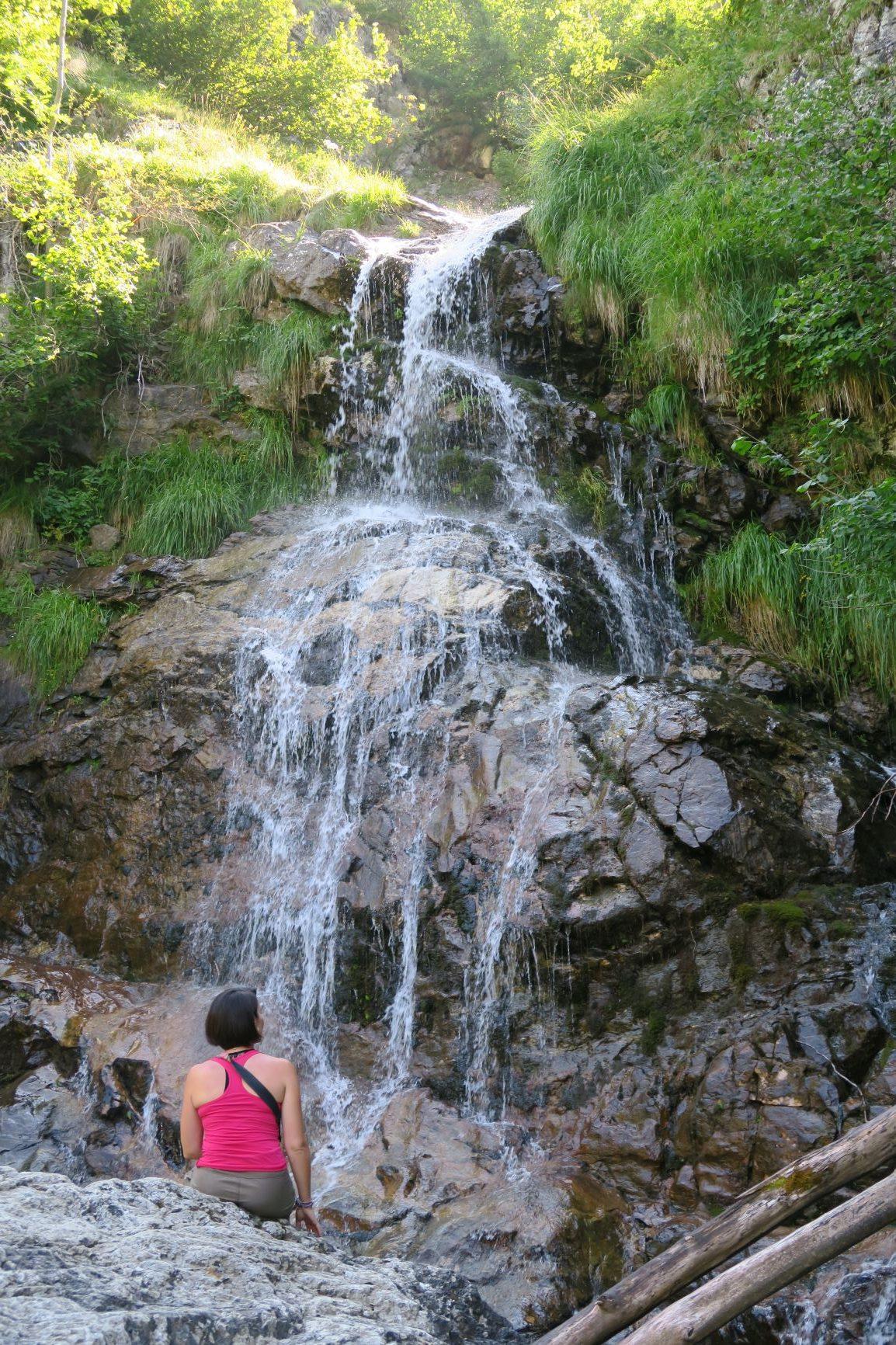 cascade du sentier des espugues gavarnie