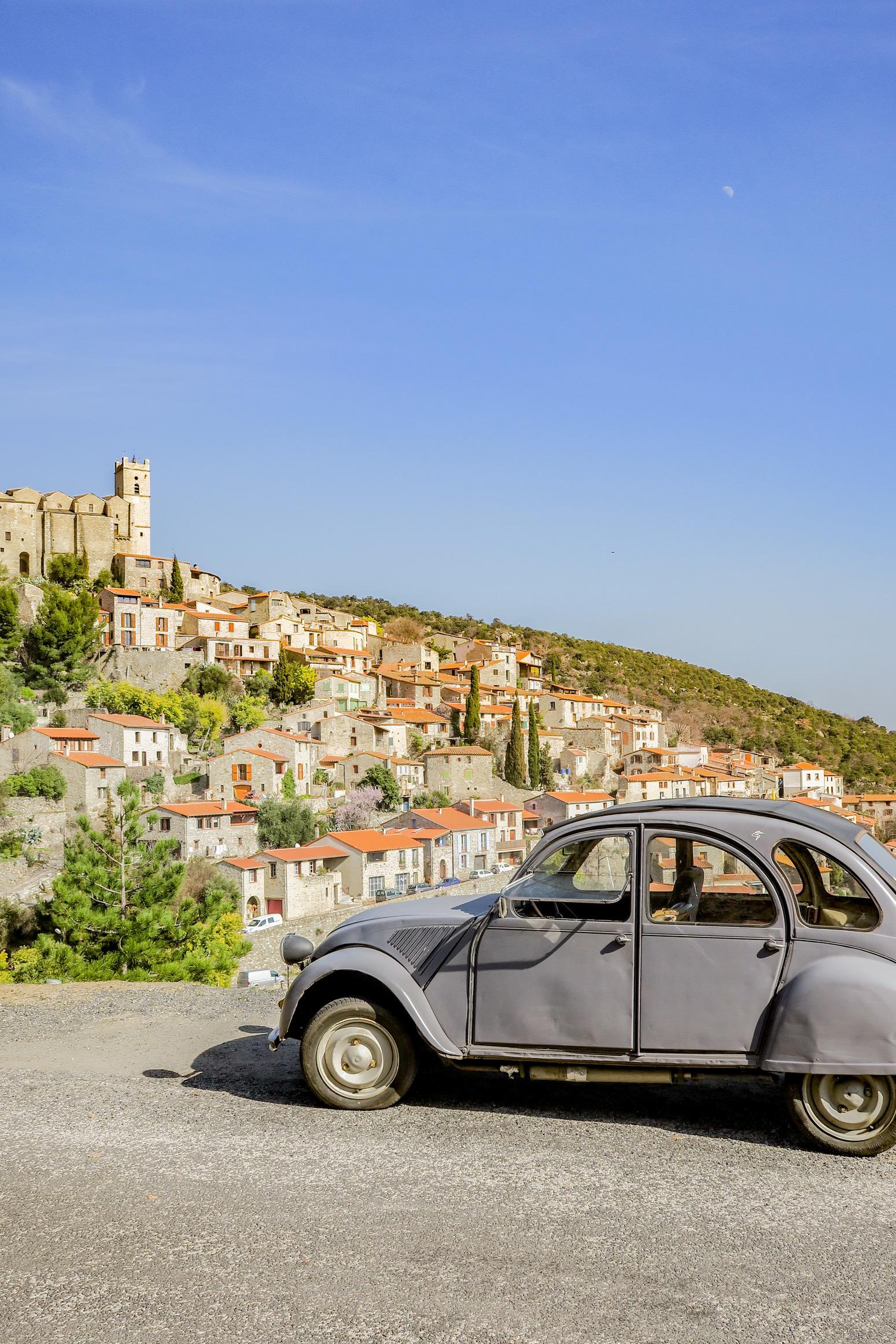 eus plus beaux villages de france et des pyrénées-orientales