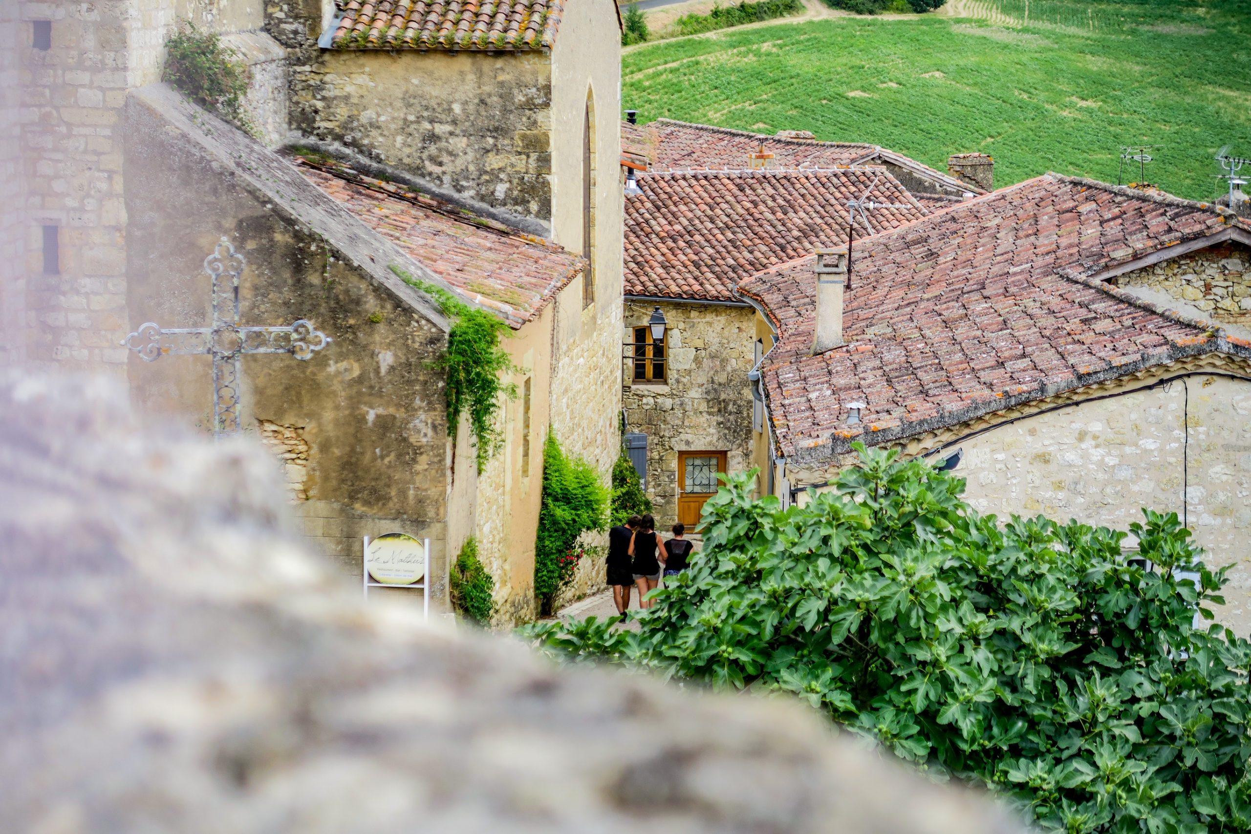 vue depuis le château de lavardens