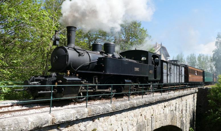 le train à vapeur d'ardeche