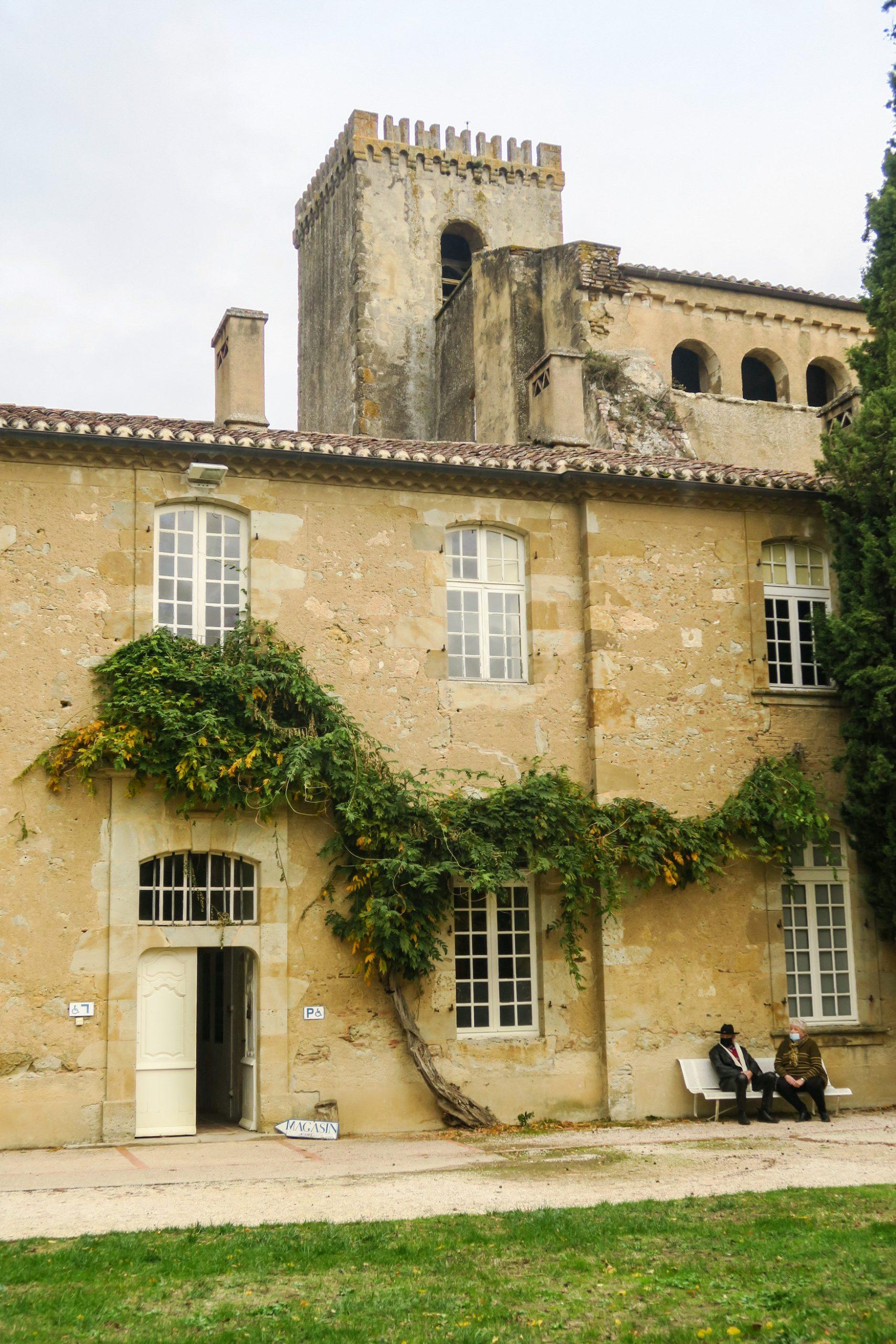 l'abbaye de Boulaur gers