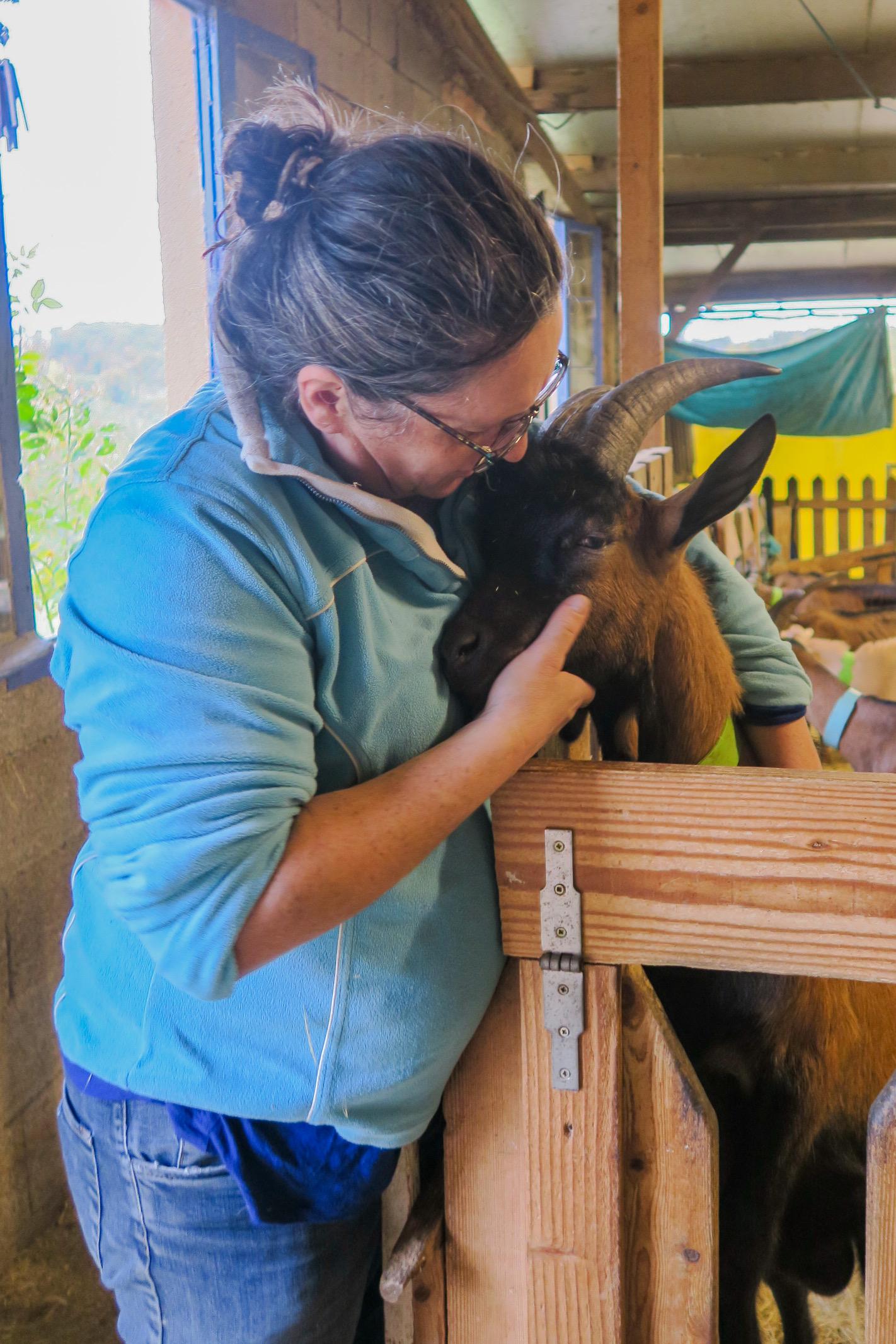 marie et ses chèvres gers