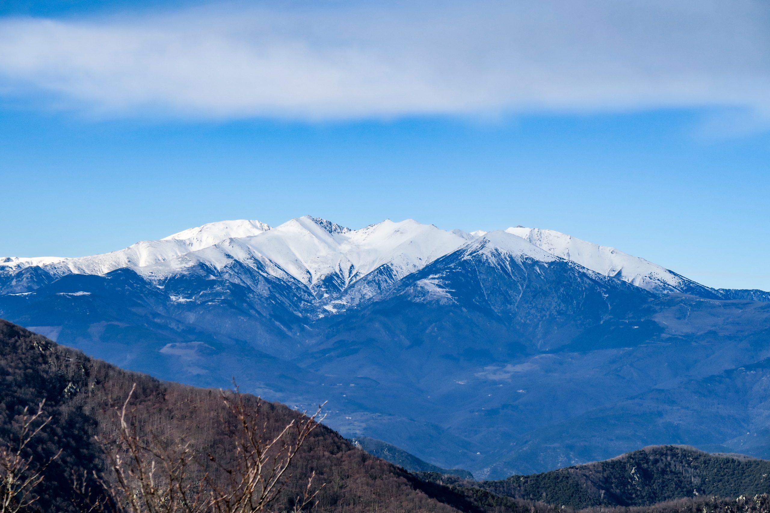 mont canigo pyrénees orientales