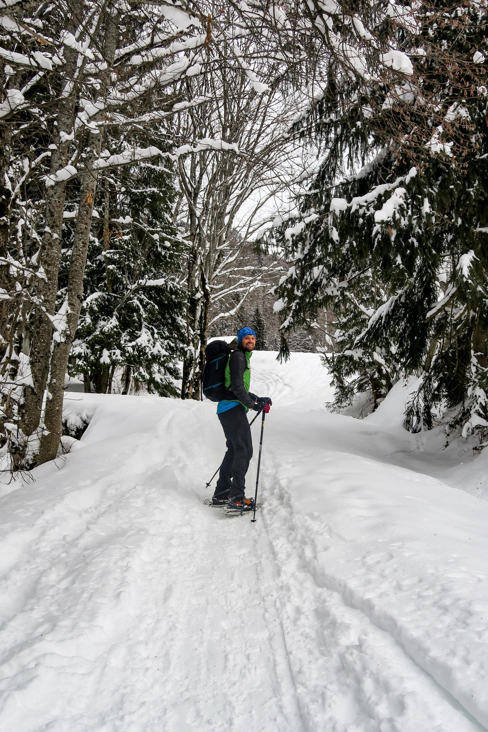 olivier guide de montagne pays albertville hiver