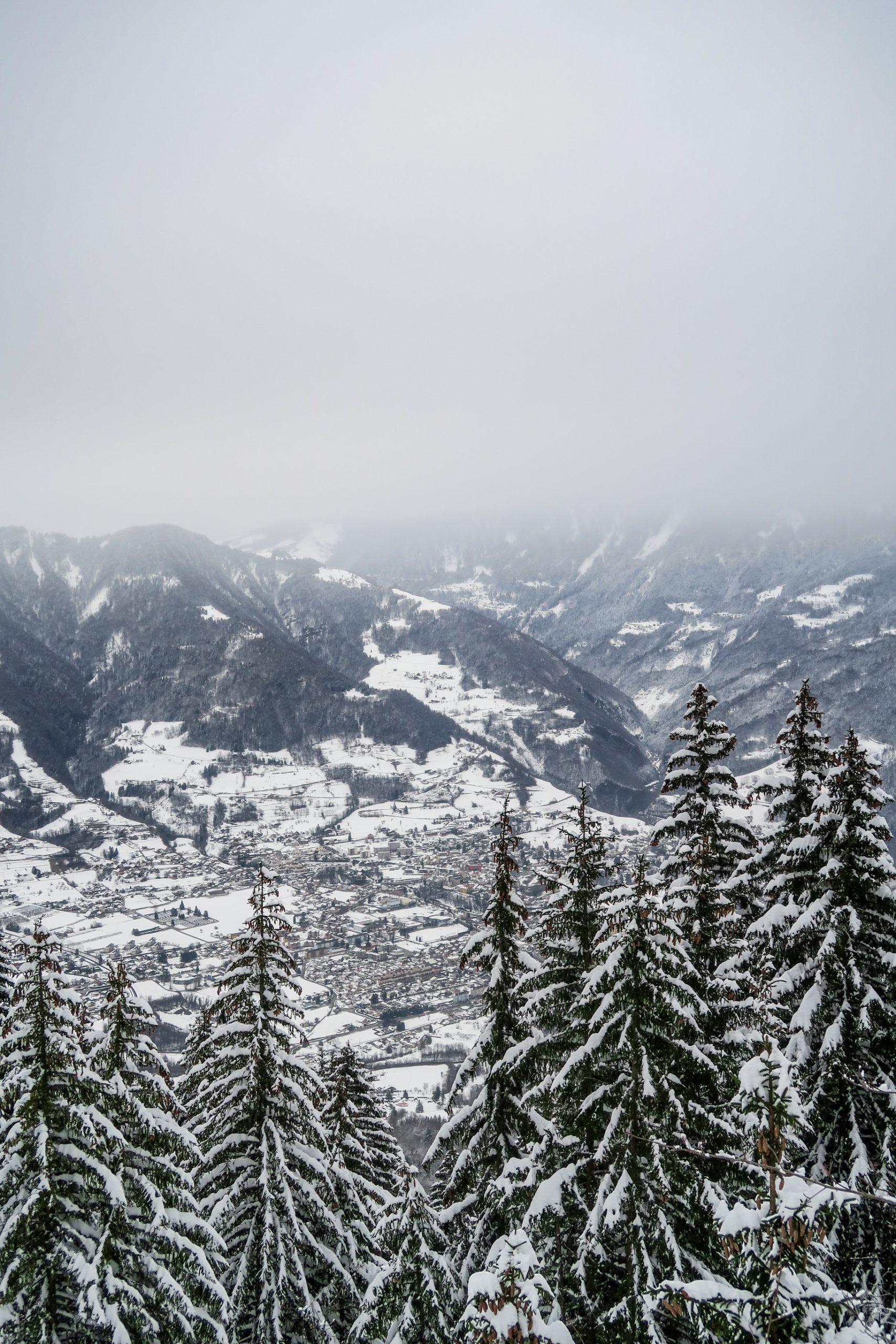 photographie pays d'albertville en hiver
