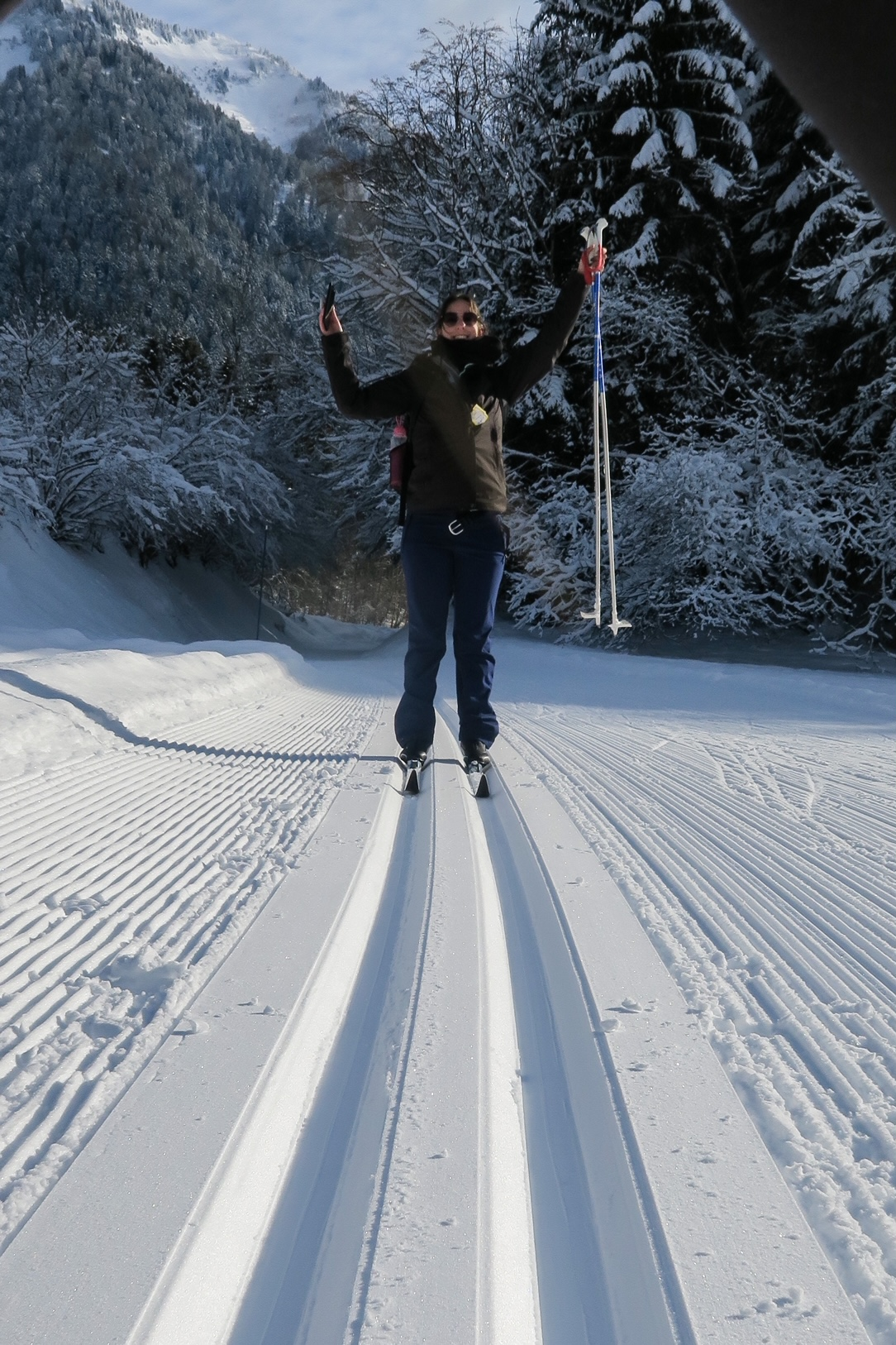 ski de fond pays albertville