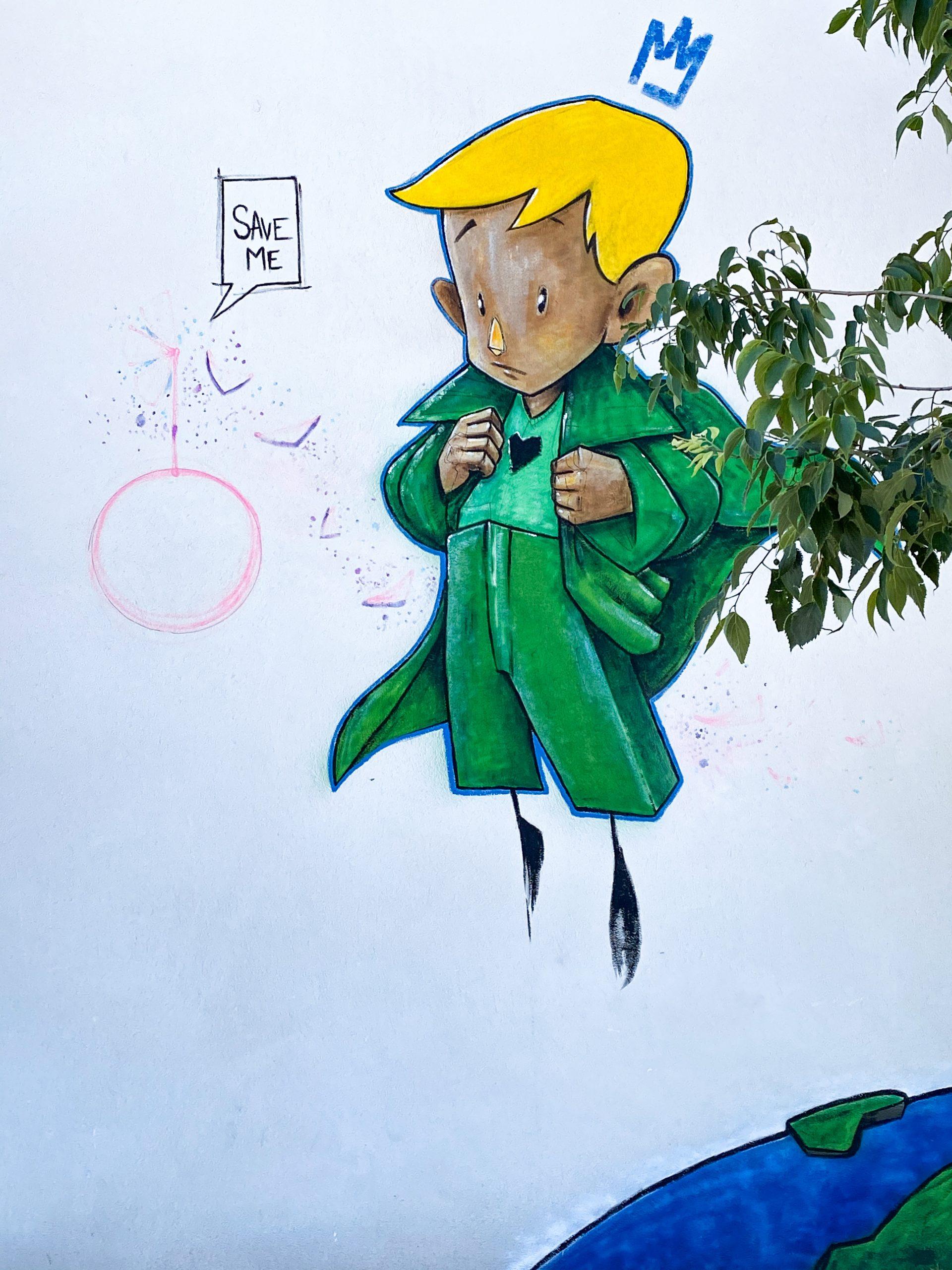 Street art ben caillous toulouges