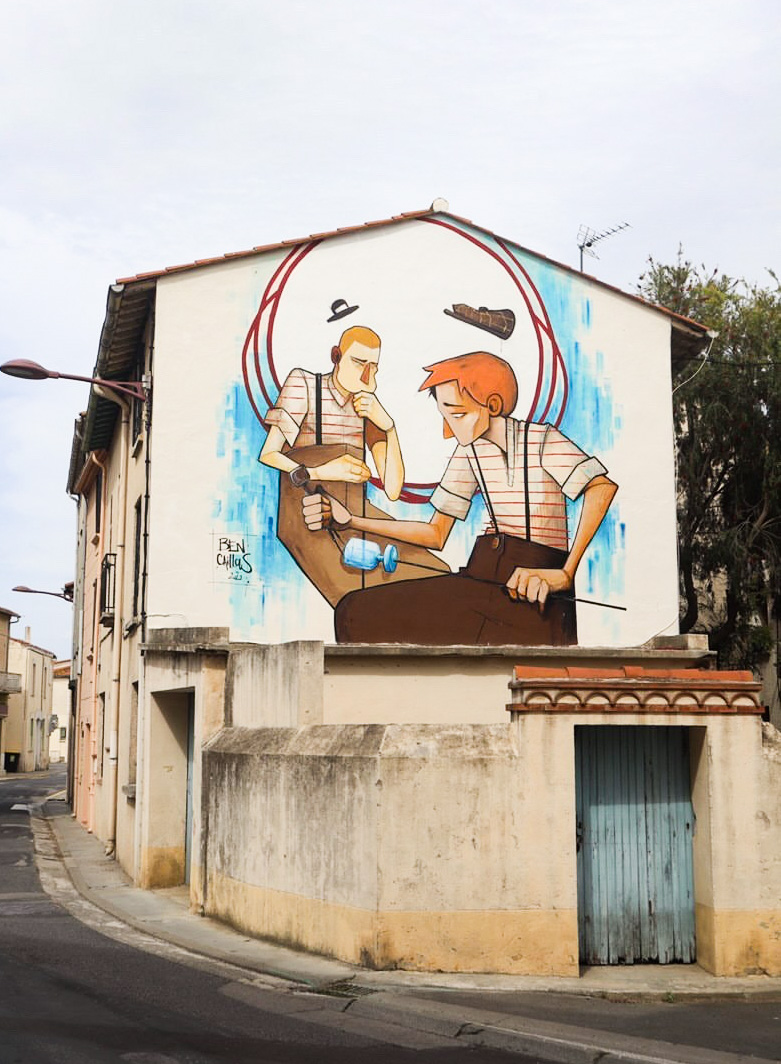 palau del vidre street art pyrénées orientales