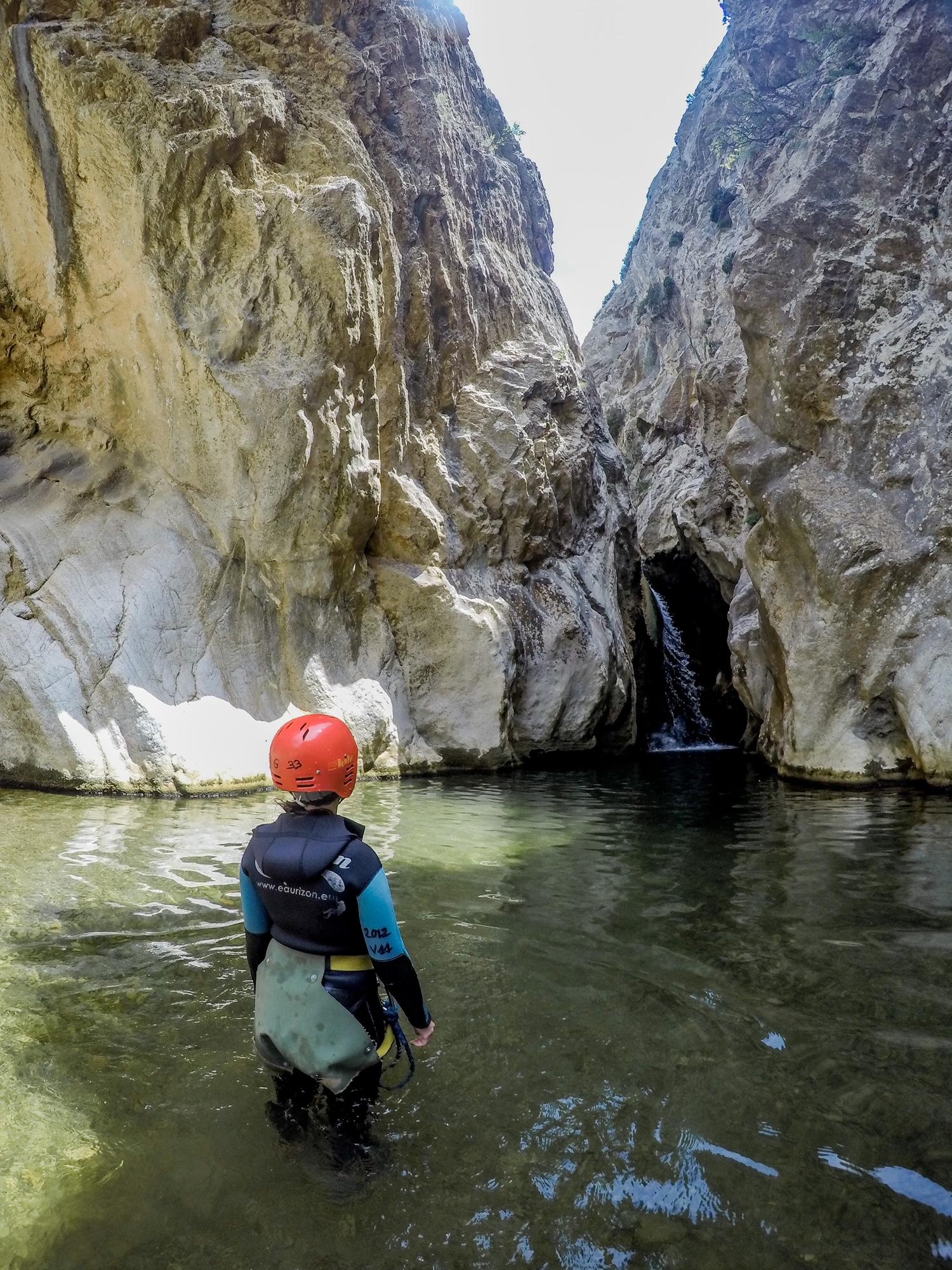 canyoning aux gorges de termenet