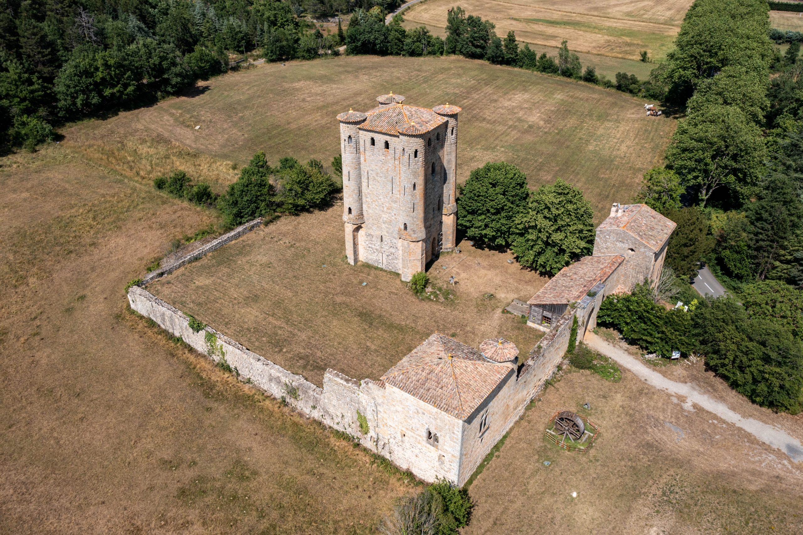château d'arques drone