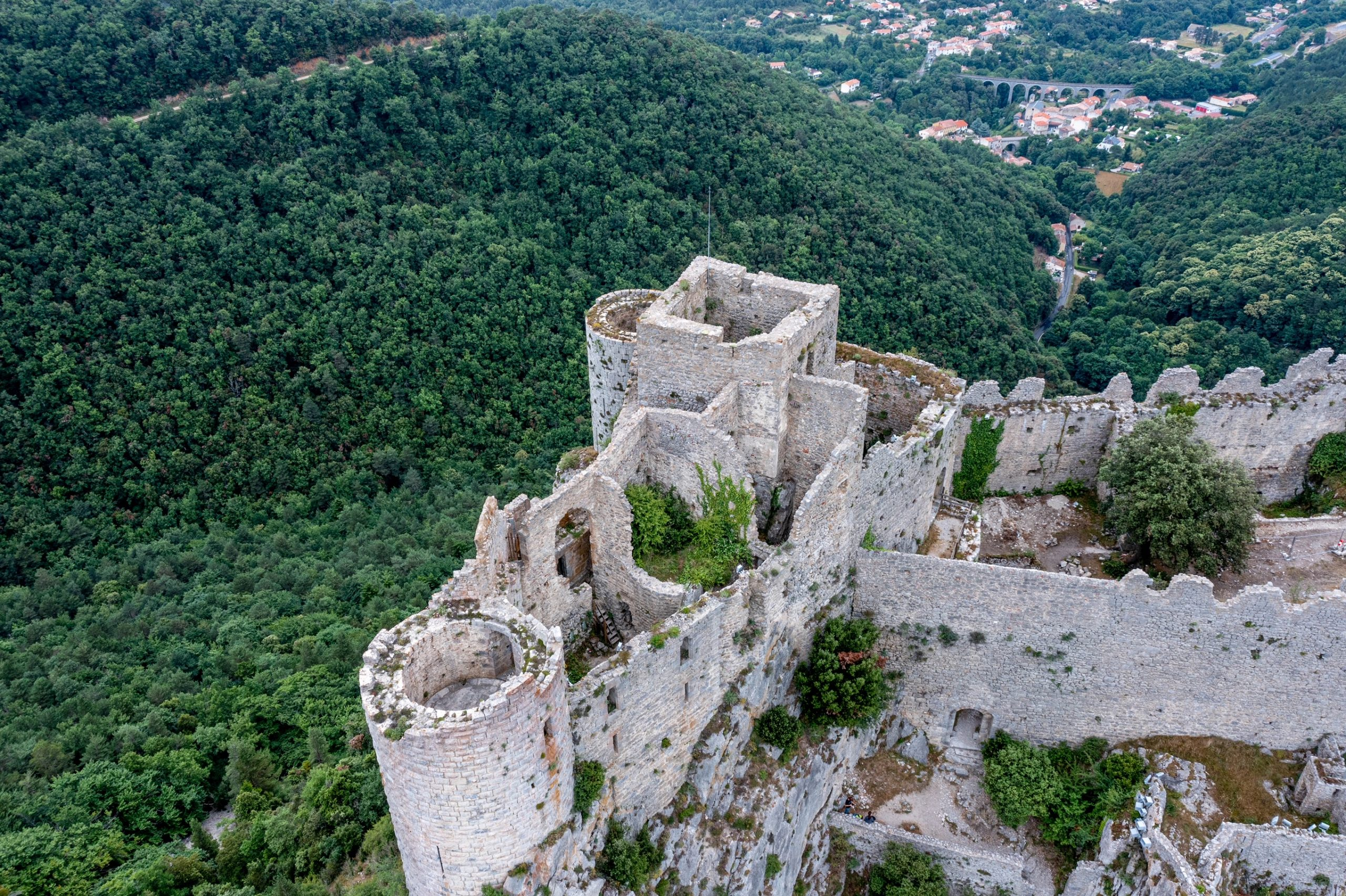 chateau de Puilaurens pays cathare