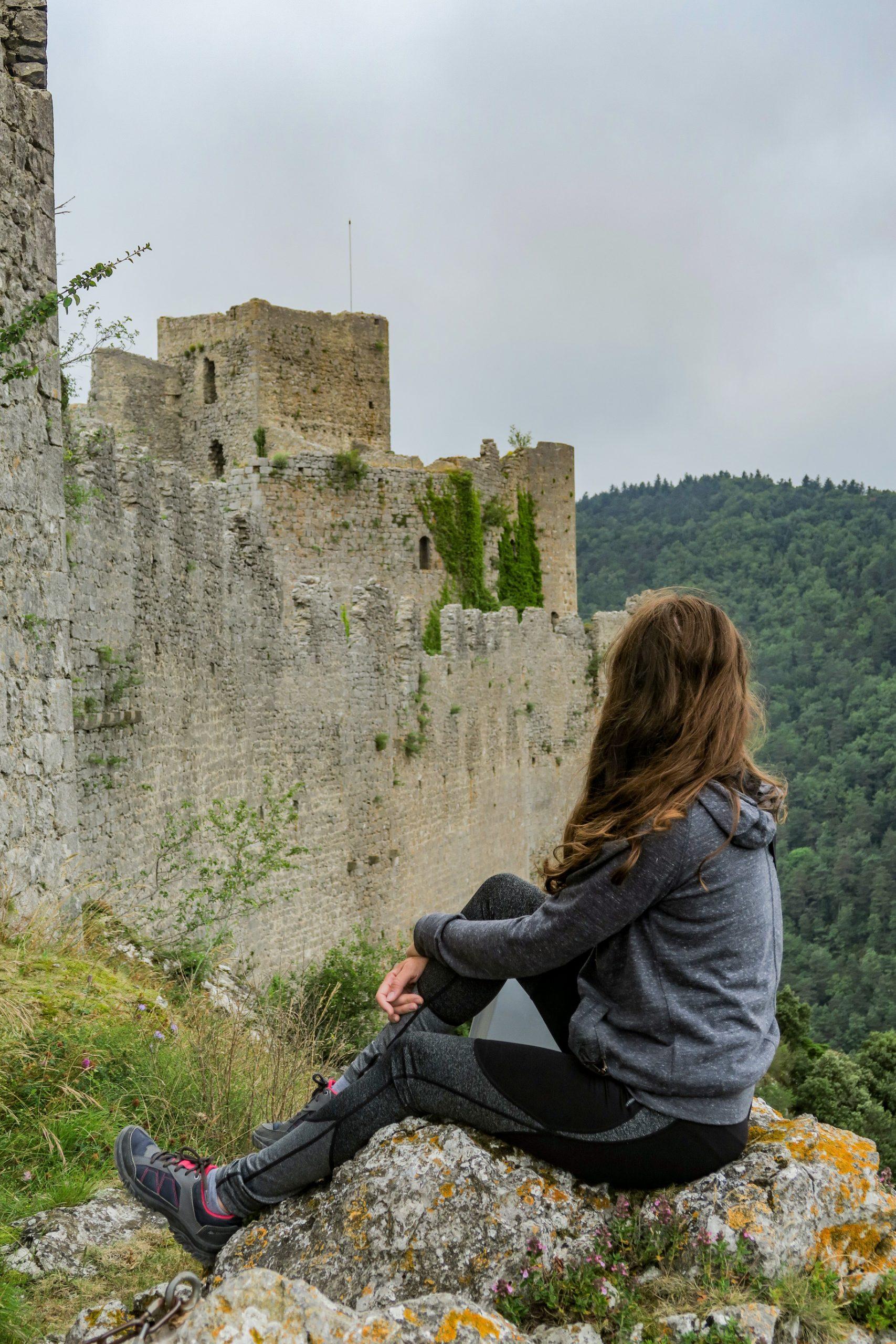 château de Puilaurens Pays Cathare