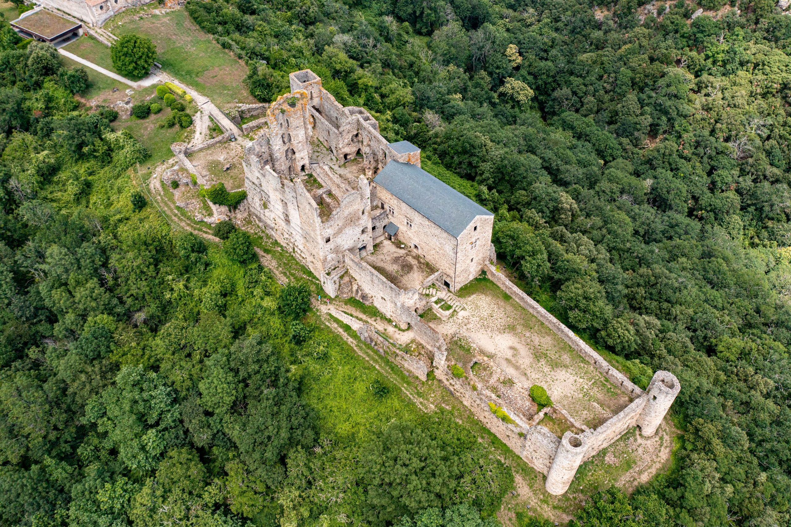 Saissac, un des châteaux cathares